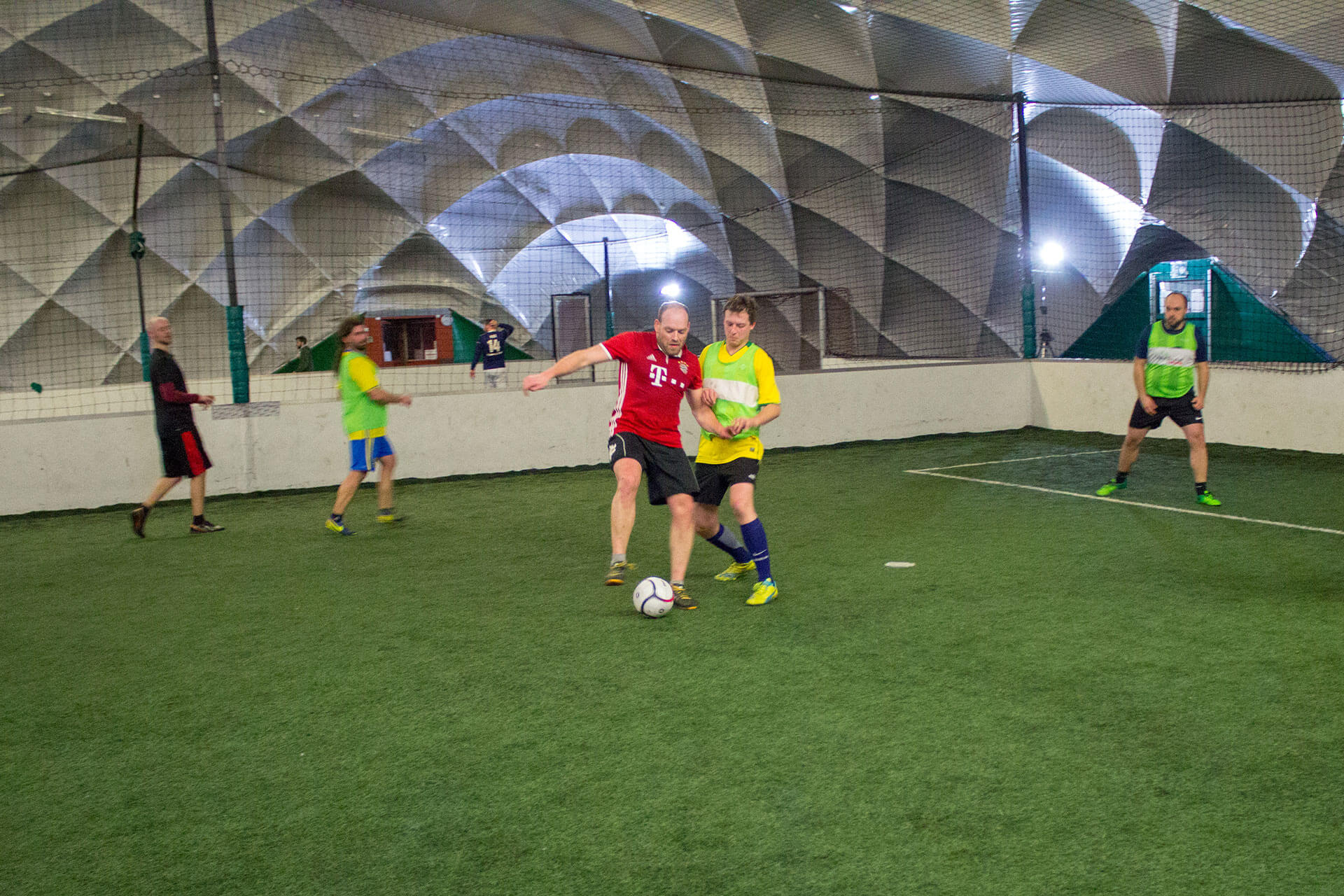 Jako Speed Trainingsball in der Soccerhalle